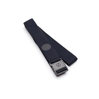 Arcade Midnighter Slim Webbing Belt in Black