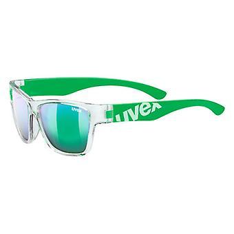 Uvex Sportstyle 508 läpikuultava vihreä peili vihreä