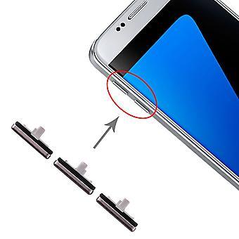 Für Samsung Galaxy S7 Sidekeys Seitentasten Schwarz Ersatzteil Zubehör Reparatur