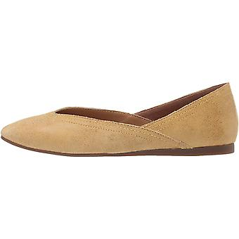 Lucky Brand Womens alba Square Toe Slide Flats