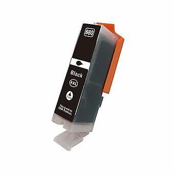 Cartuccia a getto d'inchiostro compatibile con il pigmento nero Premium per PGI 680BKXL