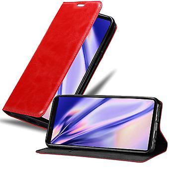 ソニーXperia 1折りたたみ式電話ケースのケース - カバー - スタンド機能とカードコンパートメント付き