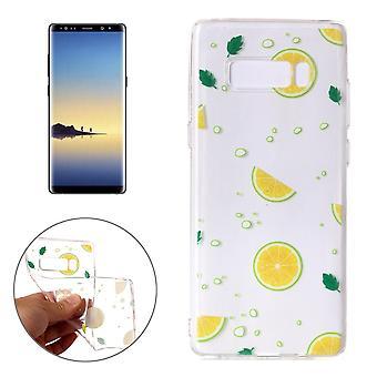 """Per samsung Galaxy Note 8 Custodia,Elegante """"Lemons"""" Copertina protettiva di alta qualità"""