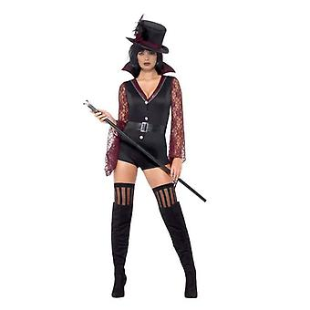 Fever Vampire Costume Adult Black
