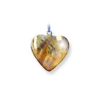 Nobile Glassware November Birth Gem Heart