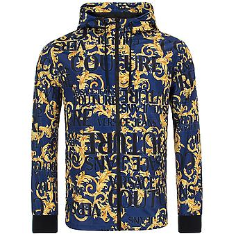 Versace Jeans Couture All Over Print Hooded Jacket