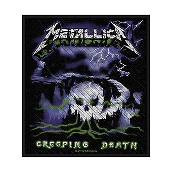 Metallica Patch Creeping Death Band Logo nya officiella vävda sy på