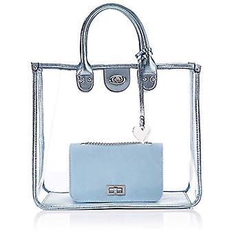 MARCO TOZZI 2-2-61032-24 blue Women's clutch bag (Blue (BLEU METALLIC 850)) 15x30x36 cm (B x H x T)
