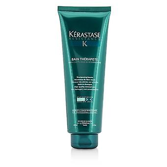 Kerastase Resistance Bain Therapiste Balm-in -shampoo Fiber Quality Renewal Care (for Very Damaged Over-porcessed Hair) - 450ml/15oz