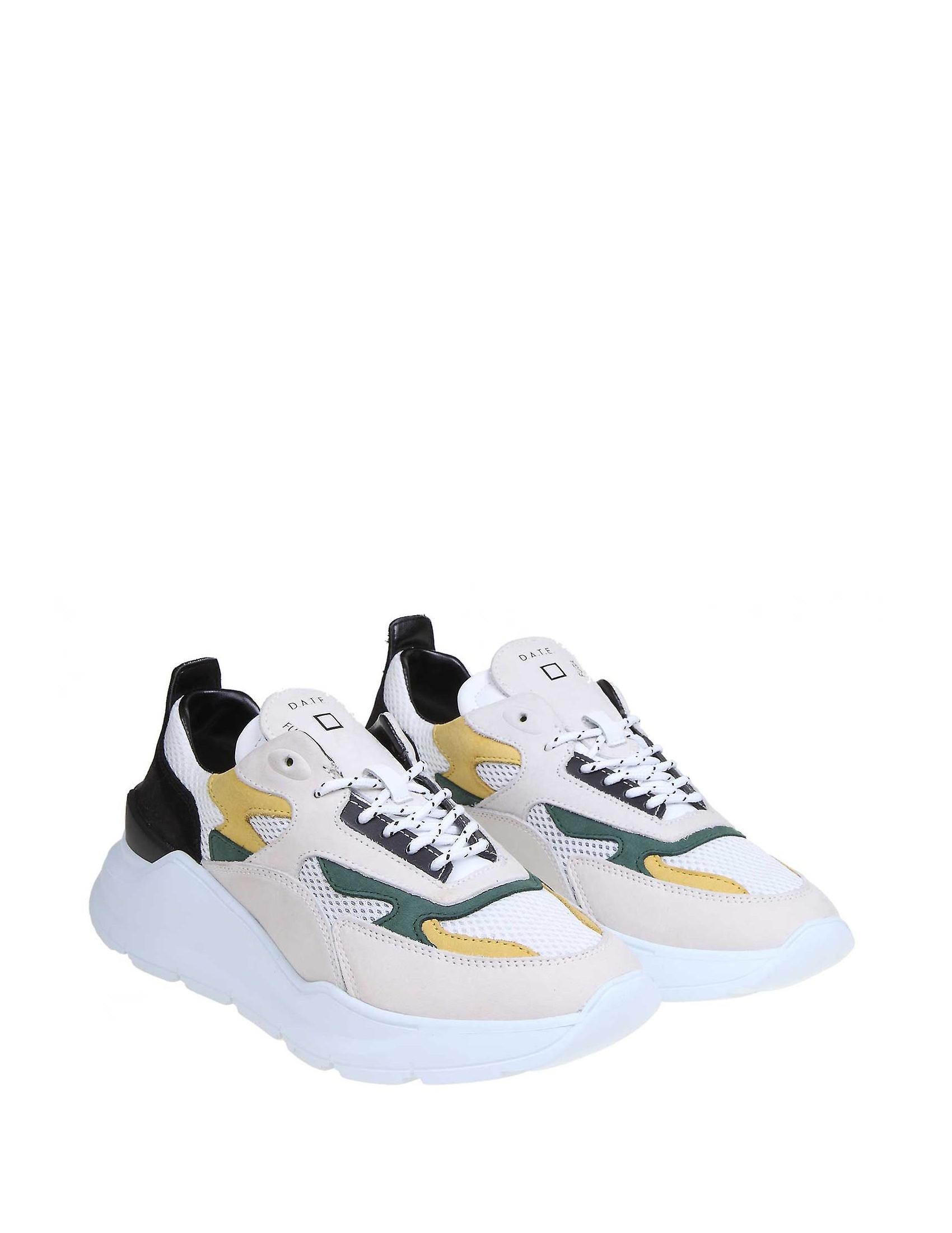 D.a.t.e. M321multicolor Men-apos;s Multicolor Leather Sneakers