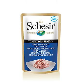 Schesir Tuna with Seabass (Cats , Cat Food , Wet Food)