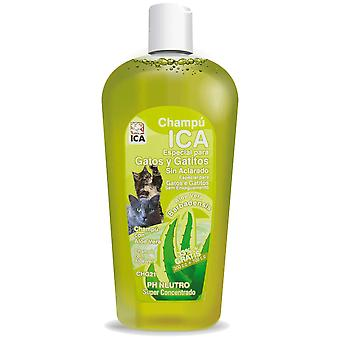 Ica Shampoo for Cats Washed Dry Aloe 400Cc (Cats , Grooming & Wellbeing , Shampoos)