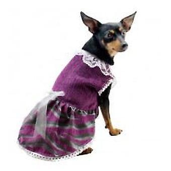 Yagu Lila Faller kostym (hund, hundkläder, kostymer)
