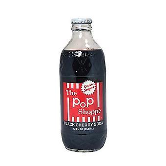 Pop Shoppe Svart Kirsebær Brus-( 355 Ml X 12 Bokser)