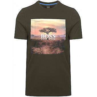 BOSS BOSS Troaar 5 Khaki T-Shirt