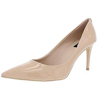 DKNY Womens Letty Patent Leather Pointed Toe Dress Heels