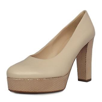 Peter Kaiser Irmgard Women's Trendy Block Heel Court Shoes In Lana
