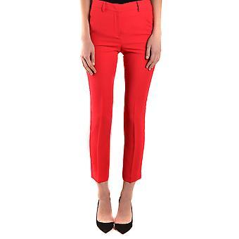 Hanita Ezbc433012 Women's Red Polyester Pants