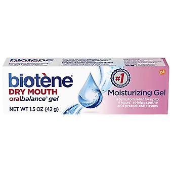 Biotene oral balance, dry mouth moisturizing gel, 1.5 oz