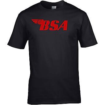 BSA farge - motorsykkel motorsykkel biker - DTG trykt t-skjorte