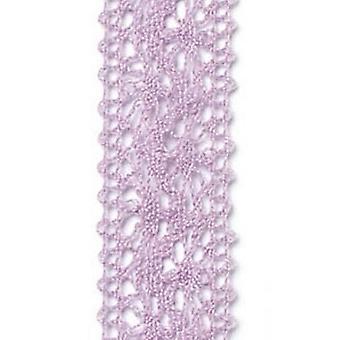 Vivant Ribbon Chantilly laceold lila - 5 MT 22MM