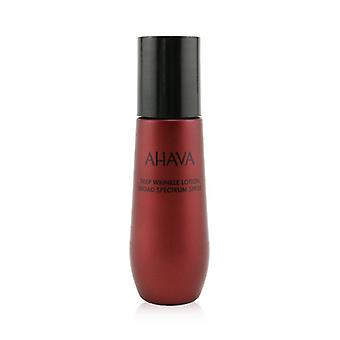 Ahava Apple de Sodom Deep Wrinkle Lotion Broad Spectrum Spf 30 - 50ml /1.7oz