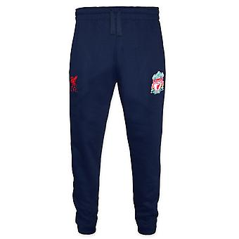 Liverpool FC Official Football Gift Mens Fleece Joggers Jog Pants