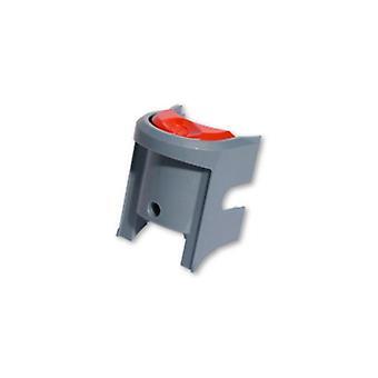 Interruptor placa plata/scarlet