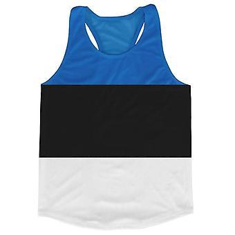 Estland Flagge Running Weste