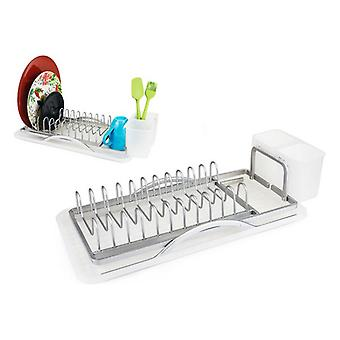Draining Rack for Kitchen Sink Confortime Tray (38,5 x 19,5 x 10,5 cm)
