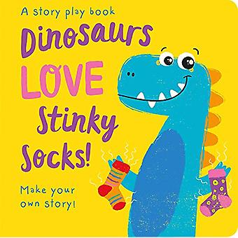 Dinosaurs LOVE Stinky Socks! by Jenny Copper - 9781789582635 Book