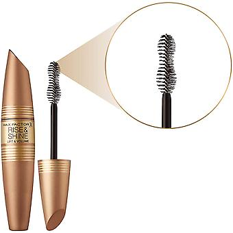 3 x Max Factor Rise et Shine Lift and Volume Mascara 12ml - Noir/Brown