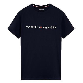 Tommy Hilfiger Original Crew Neck Logo T-Shirt - Navy Blazer