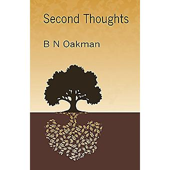 Second Thoughts by B. N. Oakman - 9781922120984 Book