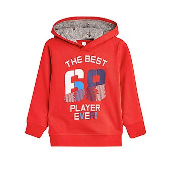 Esprit Kids' Blended Cotton Hoodie With A Sports Print