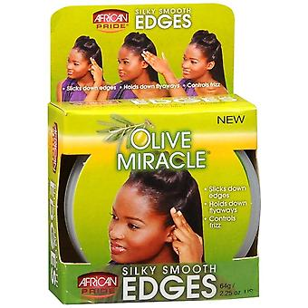 African Pride Olive Miracle Silky Smooth Edges 64 Gr