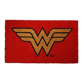Wonder Woman Symboli 17&x 29&Doormat kanssa Liukumaton Takaisin