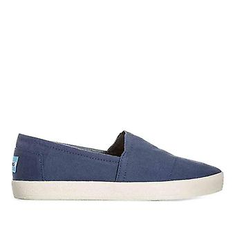 Tomin Avalon Navy Canvas Slip-on