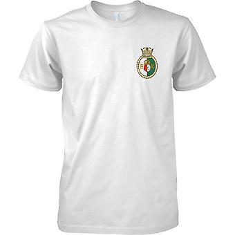HMS Queen Elizabeth - cours Royal Navy Ship T-Shirt couleur