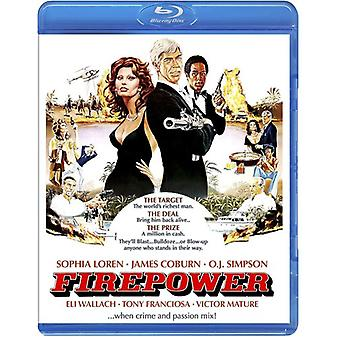 Fire Power [BLU-RAY] USA import
