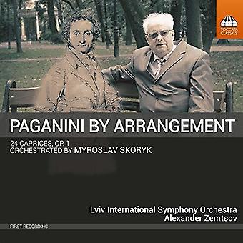 Paganini / Lviv International Symphony Orch - 24 Caprices 1 [CD] USA import