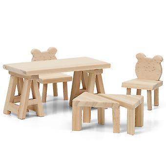Doe-het-zelftafels en stoelen