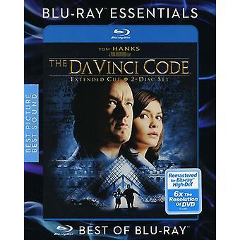 Da Vinci koodi [Blu-ray] Yhdysvallat tuoda