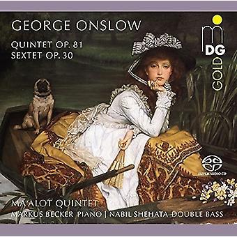 Onslow / Becker / Shehata - Quintet 81 & Sextet 30 [SACD] USA import