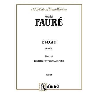 Elegie Op. 24 af af komponisten Gabriel Faure