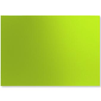 10 Chartreuse Green A4 Pearl Card Sheets | Coloured Card for Crafts