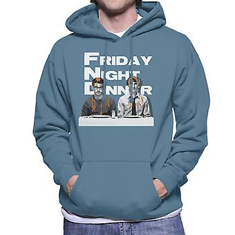 Friday Night Dinner Adam And Jonny Men's Hooded Sweatshirt