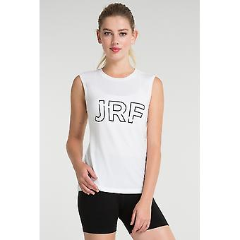 Jerf Mujeres Cusco camiseta blanca sin mangas camiseta