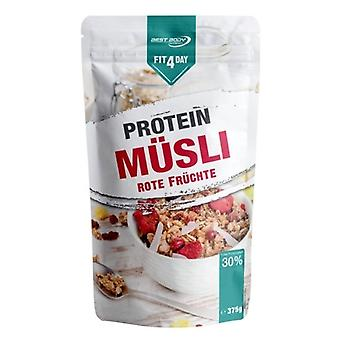 Fit4Day Protein Cereal Red Fruits 6 x 375 gr