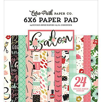 Echo Park Salon 6x6 Inch Paper Pad